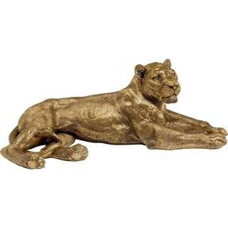 Deko Objekt Lion Gold
