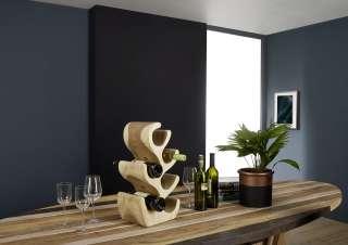 Weinständer Suar Holz 27x20x50 natur UNIKA #171