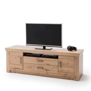 TV Unterschrank in Eichefarben 180 cm breit