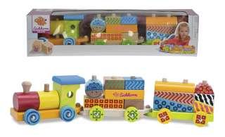 Eichhorn Holzzug  Color ¦ mehrfarbig ¦ Birke massiv Baby > Spielen > Lernspielzeug - Höffner