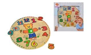 Eichhorn Lernuhr ¦ mehrfarbig ¦ Lindensperrholz massiv, lackiert Baby > Spielen > Lernspielzeug - Höffner