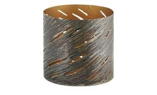 Windlicht ¦ gold ¦ Metall ¦ Maße (cm): H: 10,5 Ø: [10.0] Weihnachten - Höffner
