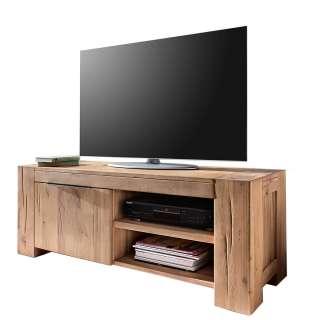TV Lowboard in Eiche Natur geölt 130 cm