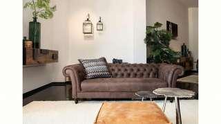 Gutmann Factory 3-Sitzer »Amazonas«, Bezug aus weichem Anilinleder