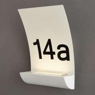 XXXL LED-AUßENLEUCHTE, Weiß