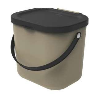 Rotho ABFALLSAMMLER 6 L, Cappuccino