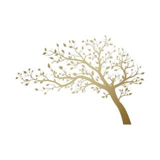 XXXL Bäume WANDTATTOO, Mehrfarbig