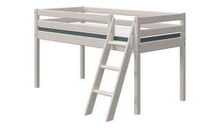 FLEXA Halbhohes Bett  Flexa Classic ¦ grau ¦ Maße (cm): B: 149 H: 120 Kindermöbel > Kinderbetten - Höffner