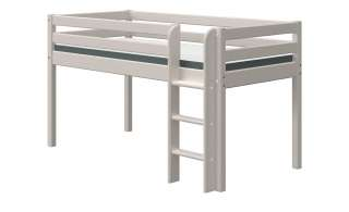 FLEXA Halbhohes Bett  Flexa Classic ¦ grau ¦ Maße (cm): B: 110 H: 120 Kindermöbel > Kinderbetten - Höffner