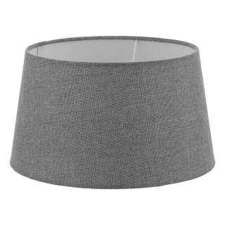 XXXL LEUCHTENSCHIRM Grau Textil E27