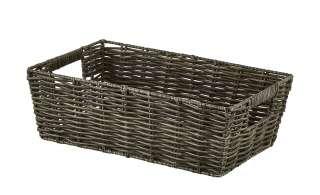 Aufbewahrungskorb ¦ grau ¦ Kunststoff ¦ Maße (cm): B: 30 H: 20 T: 10 Regale > Regal-Aufbewahrungsboxen - Höffner