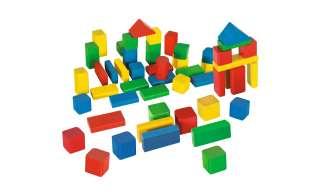 Eichhorn Holzbausteine, 50-teilig ¦ mehrfarbig ¦ Buche massiv, lackiert Baby > Spielen > Lernspielzeug - Höffner