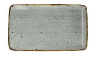 Tischläufer Outdoor II - Mischgewebe - Hellgrau/Himmelblau - Weiß / Hellgrau, Apelt