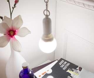 DELIFE Hängeleuchte Xendy 20 Watt Weiss mit Leuchtmittel, Hängeleuchten