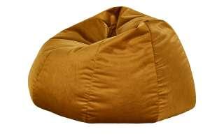 Sitzsack  Maghan ¦ gold ¦ Maße (cm): B: 105 H: 45 T: 105 Polstermöbel > Hocker > Sitzsäcke - Höffner