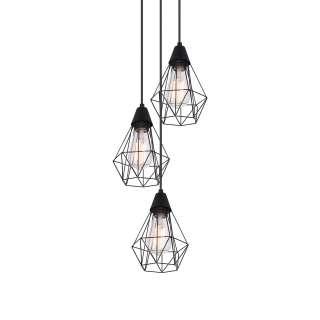EEK A++, Stehleuchte Lund - Webstoff / Eisen - 1-flammig - Weiß / Chrom, Honsel Leuchten