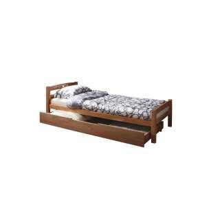 Mako-Satin-Bettwäsche Esplanade - Baumwollstoff - Mehrfarbig - 200 x 240 cm + 2 Kissen 70 x 60 cm, HIP
