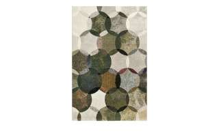 In & Outdoor Teppich Mirabelle - Kunstfaser - Mint / Cremeweiß - 243 x 304 cm, Safavieh