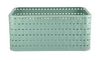 Aufbewahrungsbox ¦ grün ¦ Kunststoff ¦ Maße (cm): B: 28 H: 18,5 T: 12,6 Aufbewahrung > Aufbewahrungsboxen > sonstige Aufbewahrungsmittel - Höffner