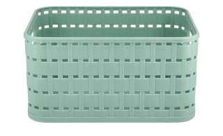 Aufbewahrungsbox ¦ grün ¦ Kunststoff ¦ Maße (cm): B: 18,3 H: 13,7 T: 9,8 Aufbewahrung > Aufbewahrungsboxen > sonstige Aufbewahrungsmittel - Höffner