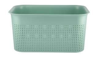 Aufbewahrungsbox ¦ grün ¦ Kunststoff ¦ Maße (cm): B: 26 H: 13 T: 18 Aufbewahrung > Aufbewahrungsboxen > sonstige Aufbewahrungsmittel - Höffner