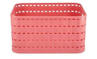 Aufbewahrungsbox ¦ rot ¦ Kunststoff ¦ Maße (cm): B: 18,3 H: 13,7 T: 9,8 Aufbewahrung > Aufbewahrungsboxen > sonstige Aufbewahrungsmittel - Höffner