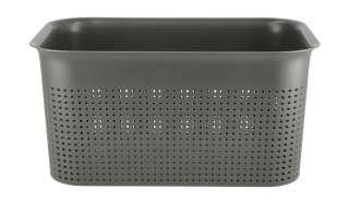 Aufbewahrungsbox ¦ grau ¦ Kunststoff ¦ Maße (cm): B: 26 H: 13 T: 18 Aufbewahrung > Aufbewahrungsboxen > sonstige Aufbewahrungsmittel - Höffner