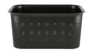 Aufbewahrungsbox ¦ schwarz ¦ Kunststoff ¦ Maße (cm): B: 26 H: 13 T: 18 Aufbewahrung > Aufbewahrungsboxen > sonstige Aufbewahrungsmittel - Höffner