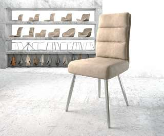 Sitzbank Balignton II - Kiefer massiv - Grau - 180 cm, Maison Belfort