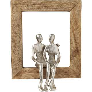 Deko Objekt Frame Loving Couple