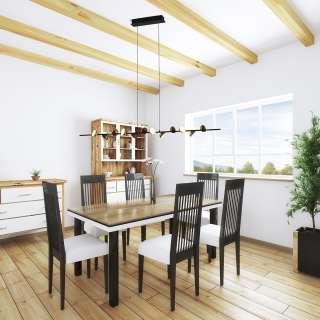 Stuhl Set in Weiß Kunststoff Schalenstiz (2er Set)