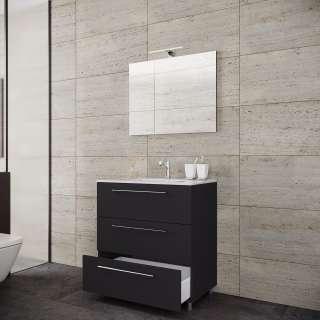 Wohnzimmer Sideboard aus Wildeiche Massivholz 180 cm breit
