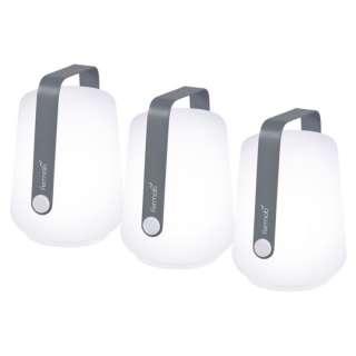 Fermob - Balad Set mit 3 Lampen - gewittergrau - outdoor