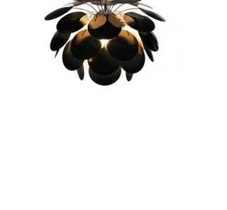 Marset - Discoco C68 Deckenleuchte - schwarz-gold - indoor