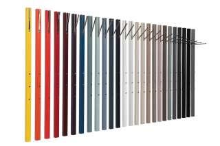 Schönbuch - Line Wandgarderobe - Lack granit - mit ausklappbarer Stange - indoor