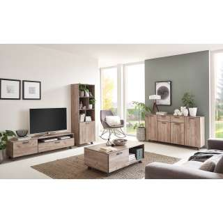 DELIFE Ecksofa Janelle 200x155 Beige Couch Schlaffunktion variabel, Ecksofas