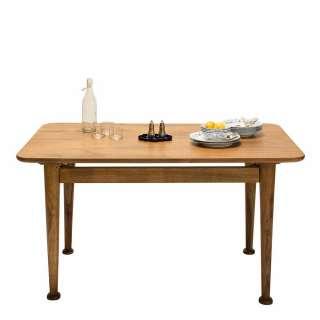 Schreibtisch Lachau - Esche / Hochglanz Weiß, mooved
