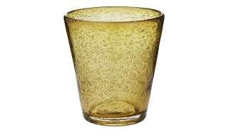LEONARDO Glas  Burano ¦ gelb ¦ Glas ¦ Maße (cm): H: 10 Ø: [9.0] Gläser & Karaffen > Trinkgläser - Höffner
