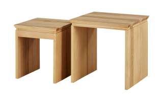 Zweisatztisch  Tiny ¦ Maße (cm): B: 45 H: 45 T: 45 Tische > Beistelltische > Beistelltische ohne Rollen - Höffner