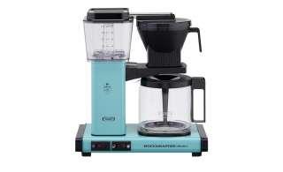 Moccamaster Kaffeautomat  KBG Select Turquoise ¦ türkis/petrol ¦ Metall-lackiert, Glas , Kunststoff ¦ Maße (cm): B: 32 H: 36 T: 17 Elektrokleingeräte > Kaffee & Espressomaschinen - Höffner