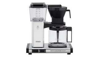 Moccamaster Kaffeautomat  KBG Select Polished Silver ¦ silber ¦ Metall-lackiert, Glas , Kunststoff ¦ Maße (cm): B: 32 H: 36 T: 17 Elektrokleingeräte > Kaffee & Espressomaschinen - Höffner