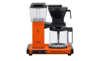 Moccamaster Kaffeautomat  KBG Select Orange ¦ orange ¦ Metall-lackiert, Glas , Kunststoff ¦ Maße (cm): B: 32 H: 36 T: 17 Elektrokleingeräte > Kaffee & Espressomaschinen - Höffner