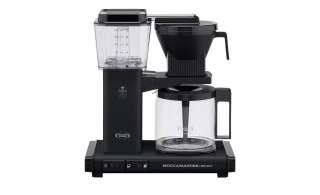 Moccamaster Kaffeautomat  KBG Select Matt Black ¦ schwarz ¦ Metall-lackiert, Glas , Kunststoff ¦ Maße (cm): B: 32 H: 36 T: 17 Elektrokleingeräte > Kaffee & Espressomaschinen - Höffner