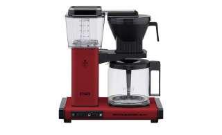 Moccamaster Kaffeautomat  KBG Select Brick Red ¦ rot ¦ Metall-lackiert, Glas , Kunststoff ¦ Maße (cm): B: 32 H: 36 T: 17 Elektrokleingeräte > Kaffee & Espressomaschinen - Höffner