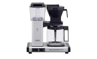 Moccamaster Kaffeautomat  KBG Select Matt Silver ¦ silber ¦ Metall-lackiert, Glas , Kunststoff ¦ Maße (cm): B: 32 H: 36 T: 17 Elektrokleingeräte > Kaffee & Espressomaschinen - Höffner