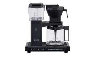 Moccamaster Kaffeautomat  KBG Select Black ¦ schwarz ¦ Metall-lackiert, Glas , Kunststoff ¦ Maße (cm): B: 32 H: 36 T: 17 Elektrokleingeräte > Kaffee & Espressomaschinen - Höffner