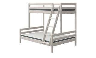 FLEXA Etagen- / Kombibett  Flexa Classic ¦ grau ¦ Maße (cm): B: 161 H: 184 Kindermöbel > Kinderbetten - Höffner