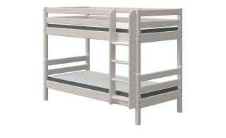 FLEXA Etagenbett  Flexa Classic ¦ grau ¦ Maße (cm): B: 110 H: 154 Kindermöbel > Kinderbetten - Höffner