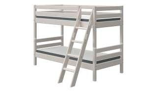 FLEXA Etagenbett  Flexa Classic ¦ grau ¦ Maße (cm): B: 163 H: 154 Kindermöbel > Kinderbetten - Höffner