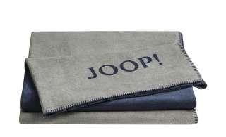 JOOP! Wohndecke  Joop! Uni-Doubleface ¦ blau ¦ 58% Baumwolle 35% Polyacryl, 7% Polyester ¦ Maße (cm): B: 150 Heimtextilien > Kuscheldecken - Höffner